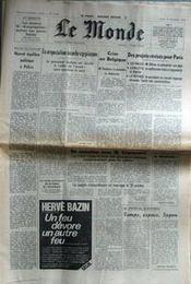 Monde (Le) N°10482 du 12/10/1978