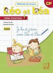 Léo et Léa ; méthode de lecture ; CP ; cahier d'exercices