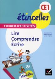 Français ; lire, comprendre, écrire ; CE1 ; fichier d'activités et aide-mémoire