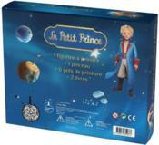 Coffret Le Petit Prince ; 2 livres avec une figurine à peindre