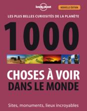 1000 choses à voir dans le monde (2e édition) - Couverture - Format classique