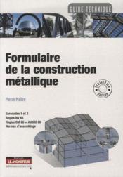 Formulaire de construction métallique