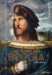 Au temps des Borgia - Couverture - Format classique