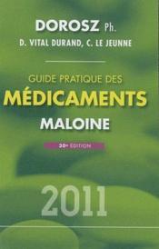 Guide pratique des médicaments 2011 - Couverture - Format classique