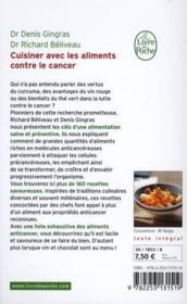 Livre cuisiner avec les aliments contre le cancer - Cuisiner avec les aliments contre le cancer pdf ...
