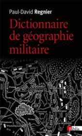 Dictionnaire de géographie militaire - Couverture - Format classique