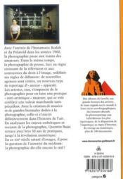 Après la photographie ? de l'argentique à la révolution numérique - 4ème de couverture - Format classique