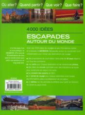 Geobook Escapades Autour Monde - 4ème de couverture - Format classique