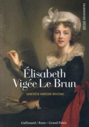 Elisabeth Vigée Le Brun - Couverture - Format classique
