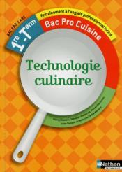 Technologie culinaire 1re et terminale bac pro cuisine for Technologie cuisine bac pro