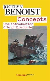 Concepts ; une introduction à la philosophie