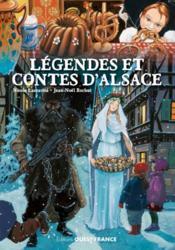 Légendes et contes d'Alsace - Couverture - Format classique