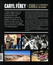 Chili ; la diagonale du condor - 4ème de couverture - Format classique