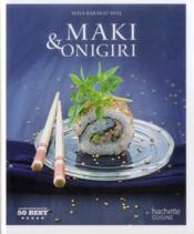 50 best maki & onigiri - Couverture - Format classique