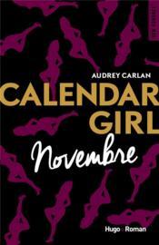 Calendar girl ; novembre - Couverture - Format classique