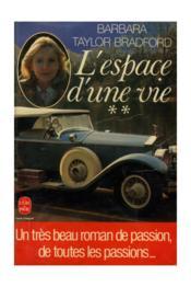 L Espace D'Une Vie T02 - Couverture - Format classique