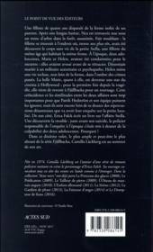 La sorcière - 4ème de couverture - Format classique