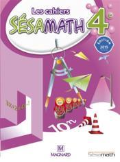 Mathématiques ; 4ème ; livre de l'élève (édition 2015)