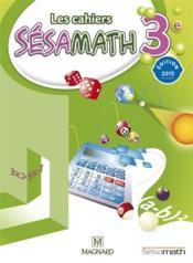 Mathématiques ; 3ème ; livre de l'élève (édition 2015)