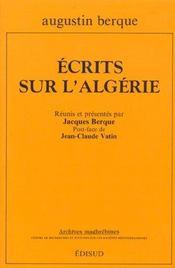 Ecrits sur l'algerie