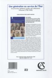 Annales Historiques De La Revolution Francaise N.380 - 4ème de couverture - Format classique