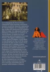 Les compagnons ou l'amour de la belle ouvrage - 4ème de couverture - Format classique