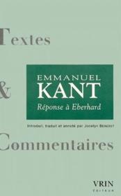 Réponse à Eberhard