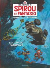 Spirou et Fantasio t.55 ; la colère du marsupilami
