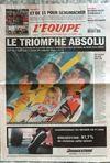 Presse - Equipe (L') N°18296 du 26/07/2004