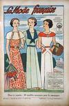 Presse - Mode Francaise (La) N°31 du 05/08/1934