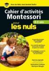 Livres - Cahiers d'activités Montessori pour les nuls ; 0/3 ans