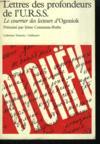 Livres - Lettres Des Profondeurs De L'U.R.S.S.