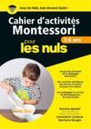 Livres - Cahiers d'activités Montessori pour les nuls ; 3/6 ans
