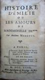 Livres - Histoire d'Emilie ou Les Amours de Mademoiselle de *** par Madame Meheust