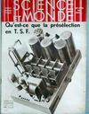 Presse - Science Et Monde N°115 du 27/07/1933