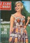 Presse - Echo De La Mode (L') N°32 du 06/08/1961