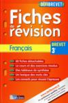 Livres - Defibrevet ; Fiches De Revision ; Français ; 3e (édition 2011)