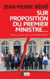Livres - Sur proposition du Premier ministre ...
