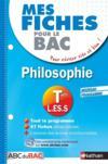 Livres - Mes Fiches Abc Du Bac T.12 ; Philosophie ; Terminale L, Es, S