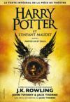 Livres - Harry Potter et l'enfant maudit ; parties I et II