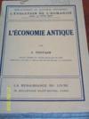 Livres - L'économie antique.