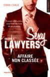 Livres - Sexy lawyers T.3 ; affaire non classée