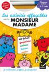 Livres - Les activités effaçables avec les Monsieur madame ; moyenne section
