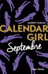 Livres - Calendar girl ; septembre