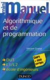 Livres - Mini Manuel ; D'Algorithmique Et Programmation