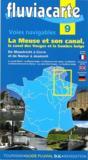 Livres - Fluviacarte N.9 ; La Meuse Et Son Canal, Le Canal Des Vosges Et La Sambre Belge