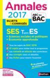 Livres - Annales Abc Bac ; Sujets & Corriges T.11 ; Sciences Economiques Et Sociales ; Terminale Es ; Spécifique & Spécialité