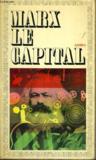 Livres - Le Capital, Livre 1