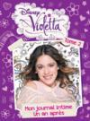 Livres - Violetta ; mon journal intime t.2 ; un an après