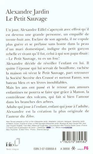 Livre le petit sauvage alexandre jardin for Alexandre jardin books